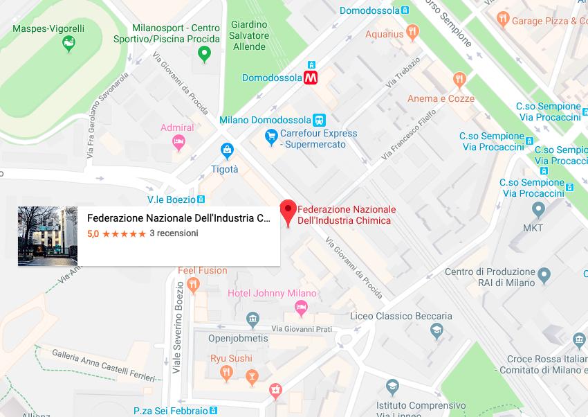 Mappa Federchimica
