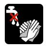 Usare con mani asciutte