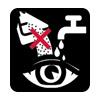Evitare contatto occhi