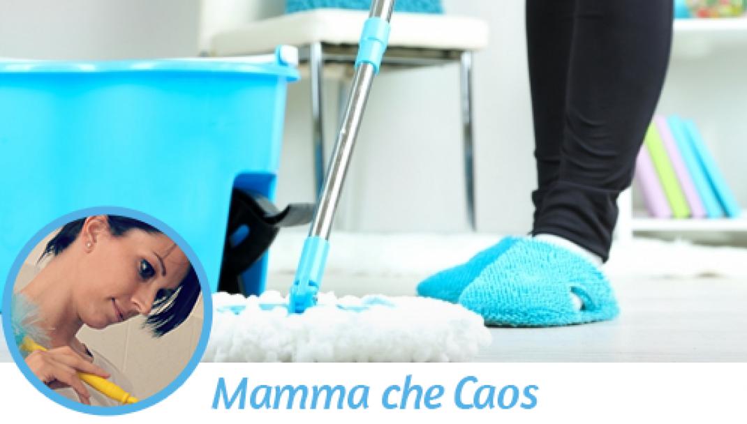 Consigli per le pulizie di casa di Mamma che Caos