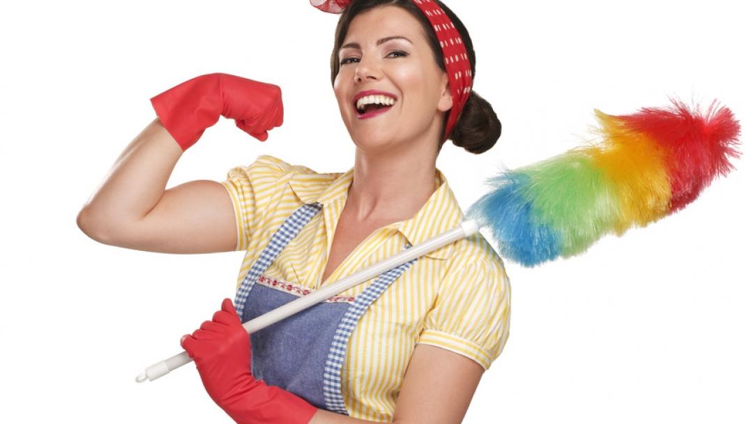 Puliti&Felici - 27 Aprile: la giornata delle casalinghe