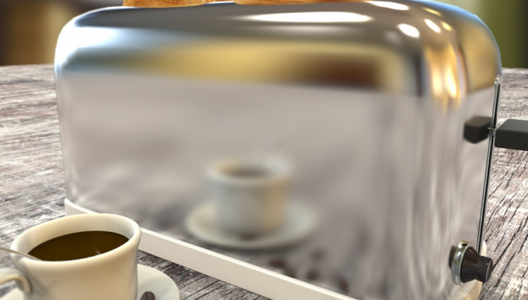 Puliti&Felici - Pulire il tostapane