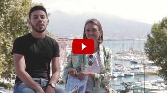 Conosciamo Ruberta Fusco e Andrea Cesaro, conduttori di #PulitieFelicinTour a Napoli